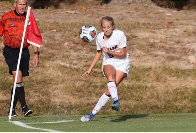 Brittany Matthews Playing Soccer