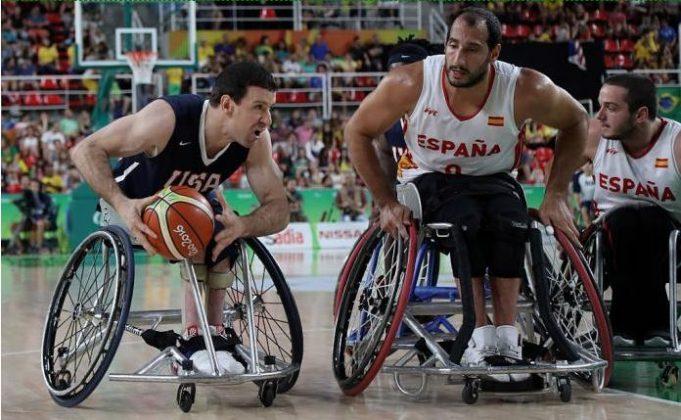 Wheelchair Basketball sports