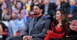 Galina Becker and her husband Roman Reigns