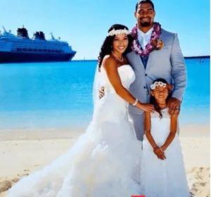 Roman Reigns and Galina Becker's wedding