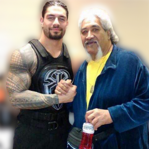 the father of Roman Reigns